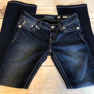Miss Me Signature Boot Cut Jeans l Size 28